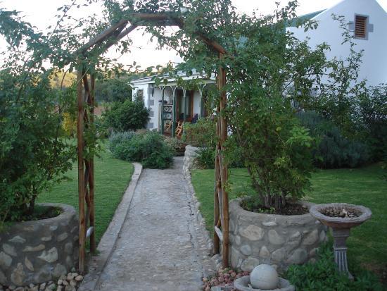 Die Gat Guest House : The garden