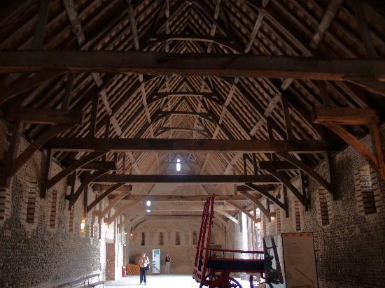 Inside Waxham Barn Picture Of Norfolk East Anglia