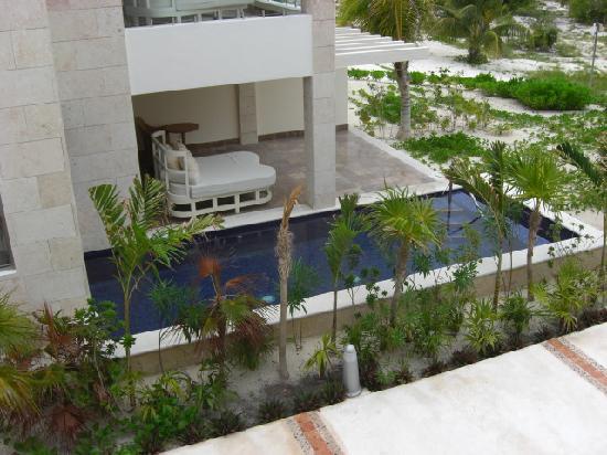 Beloved Playa Mujeres: Casita Patio and Pool