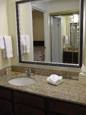 Residence Inn Chattanooga Downtown: Bathroom