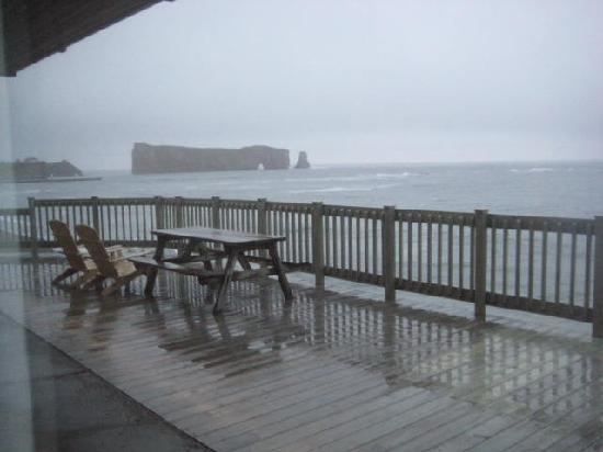 Riotel Perce: Room 162 facing east open ocean