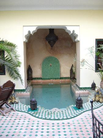 Riad Julia : The pool