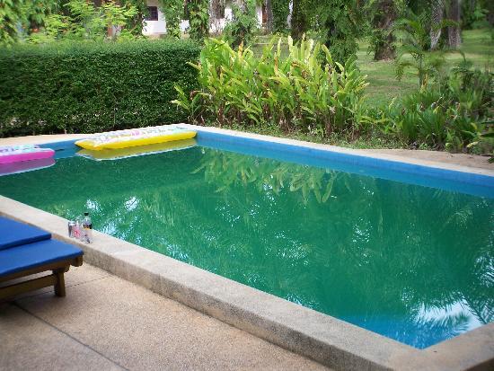 Alisea Pool Villas : Dirty Pool