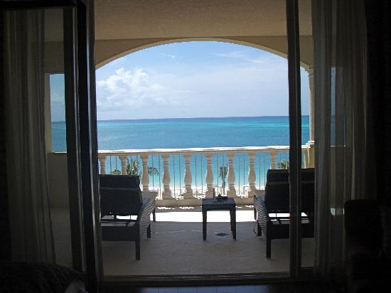 Grace Bay Club: View from Jr. Residence in the Estate section