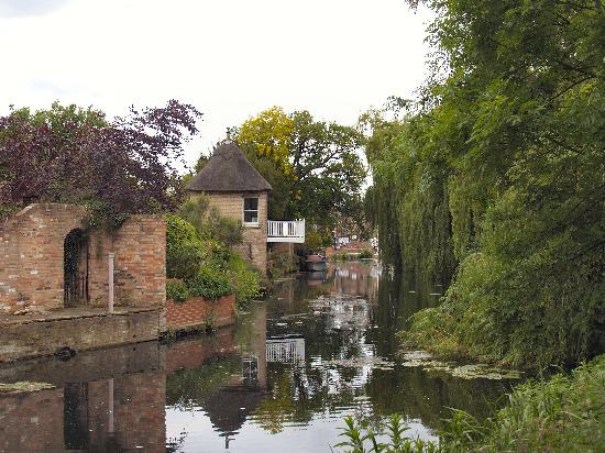 A backwater in Godmanchester