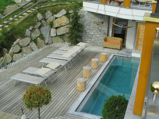 Berghotel Zirm: la piscina all'aperto