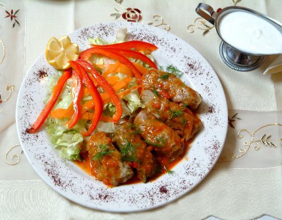 Empire Turkish Grill: cabbage rolls