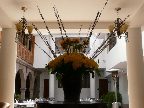 Terra Andina Colonial Mansion: View of  Hotel Dining Area