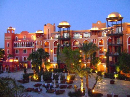 grand resort by night  Grand Resort 5*, Єгипет,  Хургада - photo