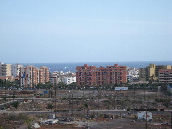 Granada Park Apartments: View from balcony (incl  wasteland)