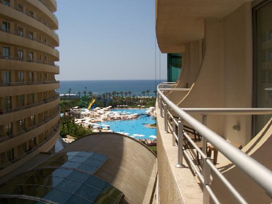 Miracle Resort Hotel: the view from room 1524