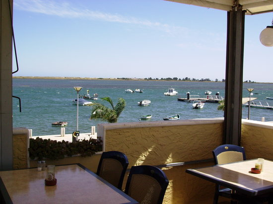 Restaurante Canto Azul: Uitzicht op het Ria Formosa