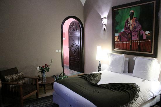 Dar Silsila: Africa room - bedroom