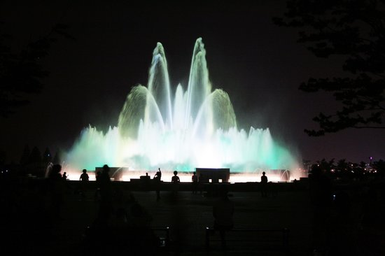 Goyang, Sydkorea: Ilsan, South Korea - Ilsan Lake Park (Musical Fountain)