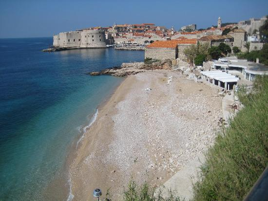 Dubrovnik Residence: Local beach nearby