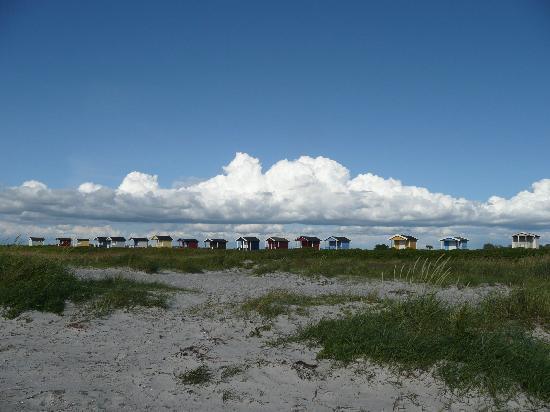 Hotell Gasslingen: Pretty beach huts