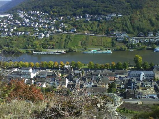 Pension Lange: Blick über Cochem