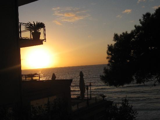 Grand Hotel Santa Maria: Coucher de soleil tout les soirs de notre chambre