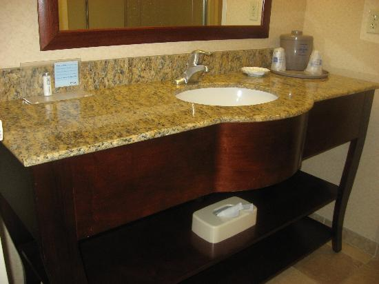 Hampton Inn Cambridge: Large vanity