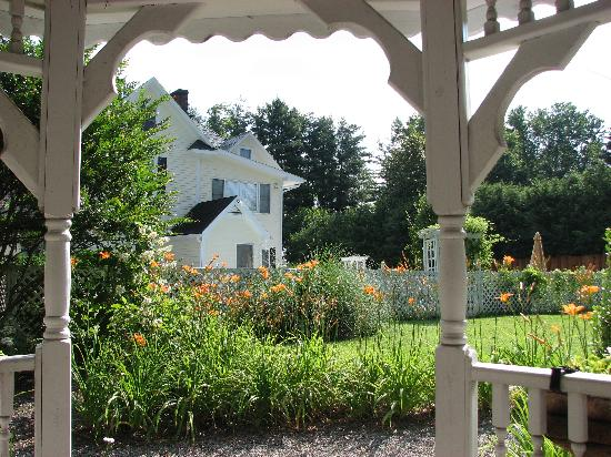 The Windover Inn Bed & Breakfast: From inside the gazebo at the Windover Inn