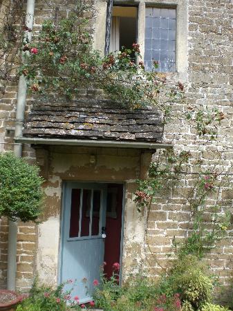 Lacock Pottery Bed & Breakfast: My door