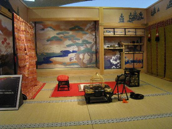Museum of the Meiji Restoration: Atsuhime  Setting Display
