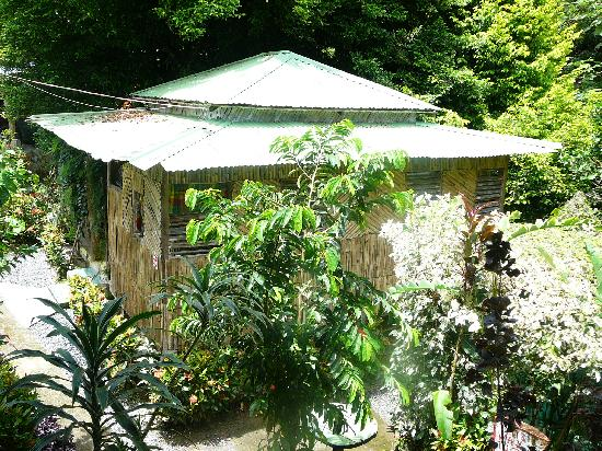 Saint George Parish, Dominica: Bamboo cottage