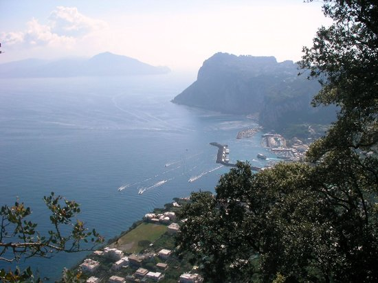 Capri, Italien: Views to die for