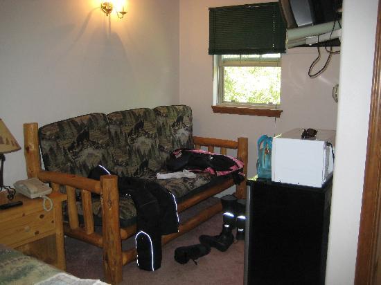 Dodge Peak Lodge: Sitting area