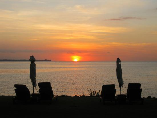 The Oberoi, Lombok : sunset
