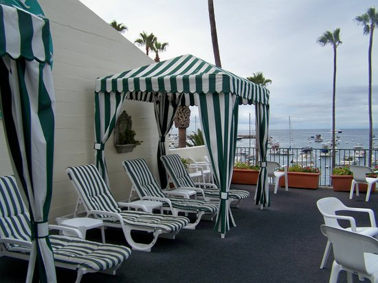 Hotel Villa Portofino: Sundeck of Villa Portofino
