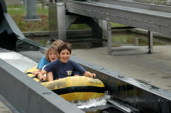 Mount Washington, NH: Fun water rides