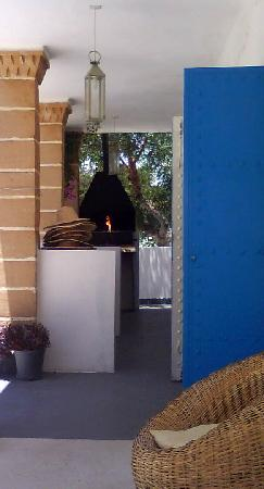 Hotel Villa Soleil : barbecue