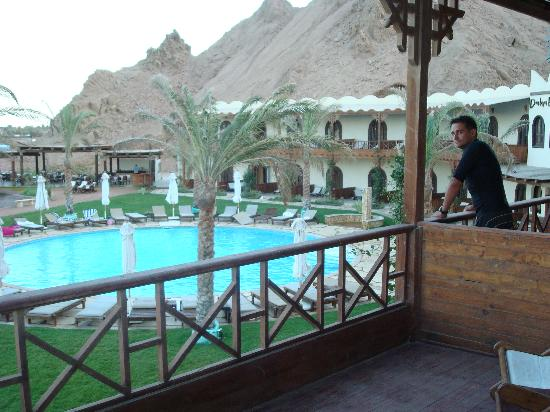 Dahab Paradise: the balcony rooms