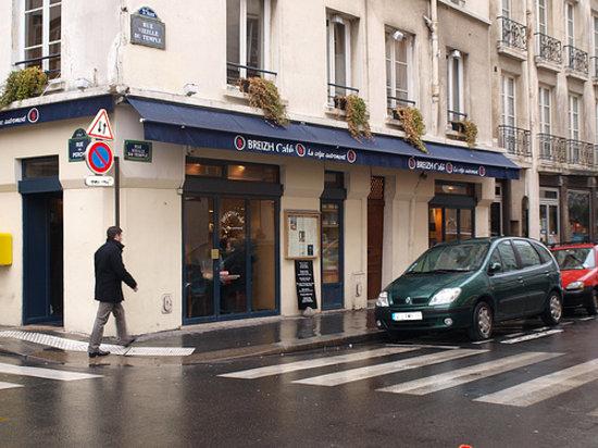 Breizh Cafe Paris 109 Rue Vieille Du Temple Le Marais