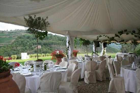 Villa Rignana: Preperation