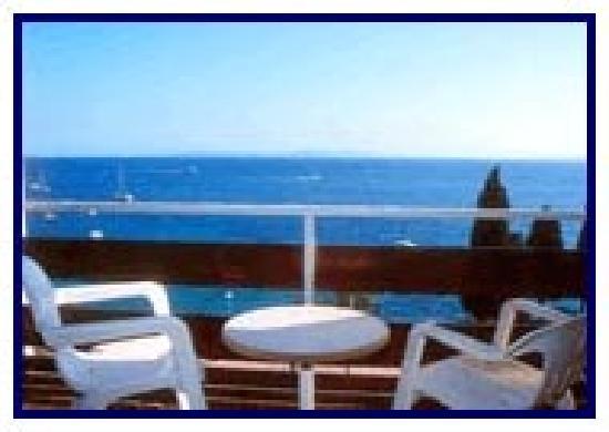 Hotel R Canyelles Platja: terraza de la habitación
