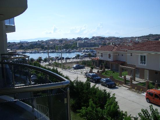 Sisus Hotel: view from balcony (dalyankoy view)