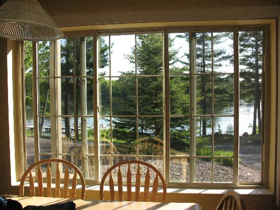 Black Bear Lodge: View from kitchen of lodge home