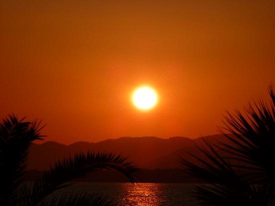 Plage de Calis : Sunset at Calis