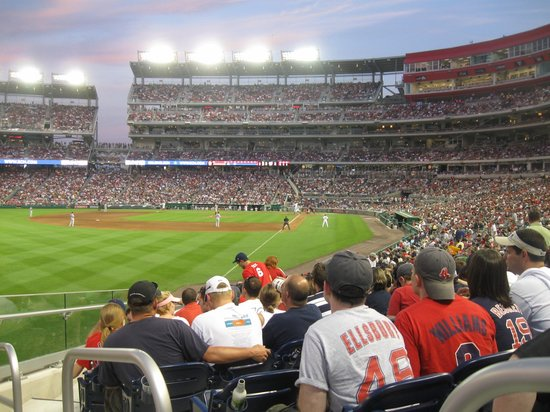 Nationals Park : Seat for Tuesday night game