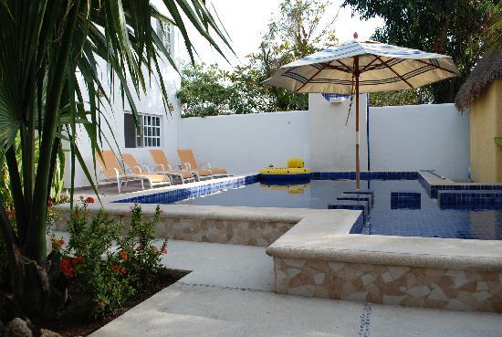 Villa Escondida Bed and Breakfast: Magda and David's pool