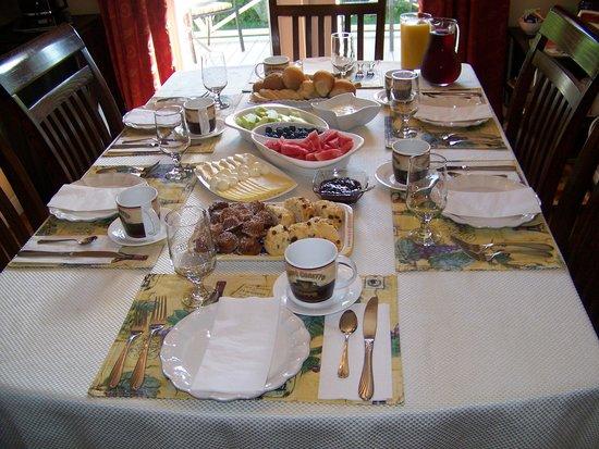 فيا فينيتو: This spread was our 1st course