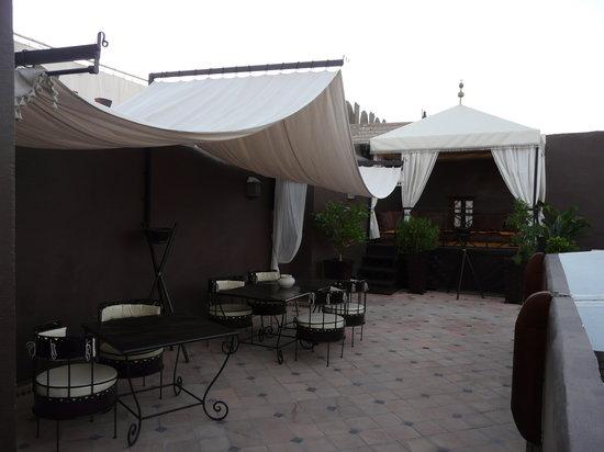 Riad Argan: la terrasse