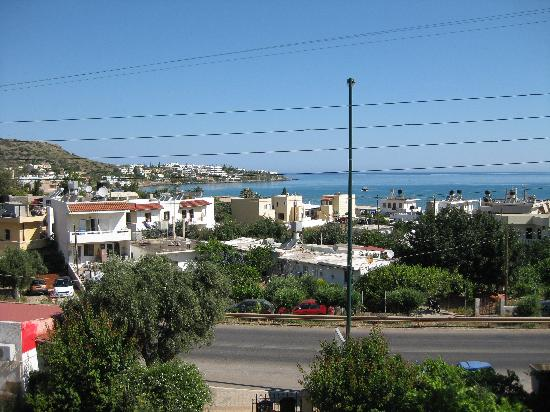 Stalis, Greece: view from front balcony