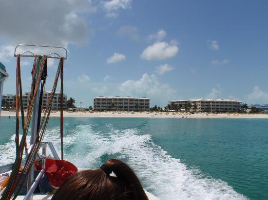 Alexandra Resort: Alex view from parasail boat