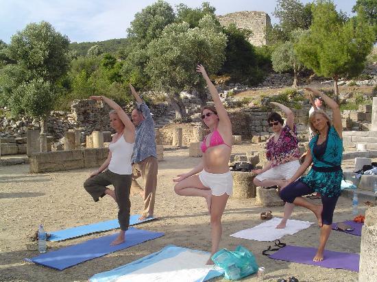 Hotel Grenadine Lodge: Yoga at Kaunos