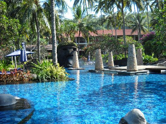 Sheraton Senggigi Beach Resort: La piscina II
