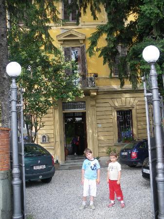 Villa alle Rampe : Vista de la entrada