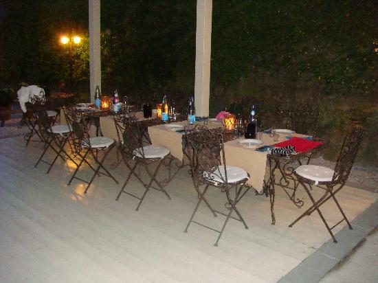 Valdirose: terraza grande